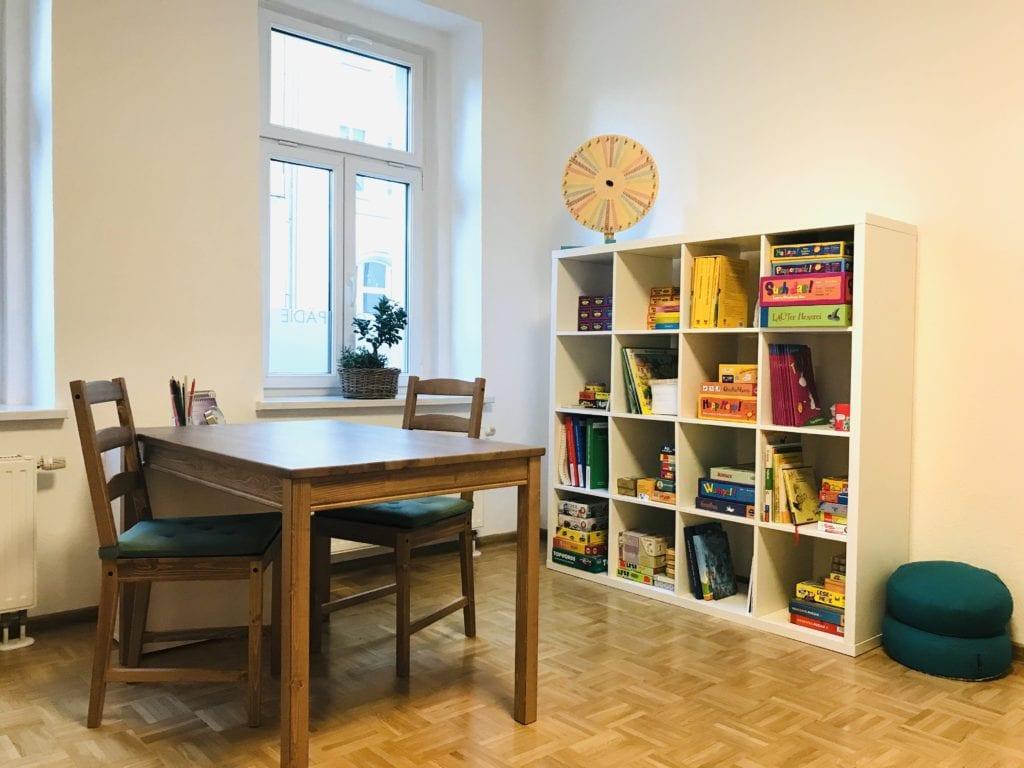 Praxis Raum Logopädie Hildebrandt Leipzig