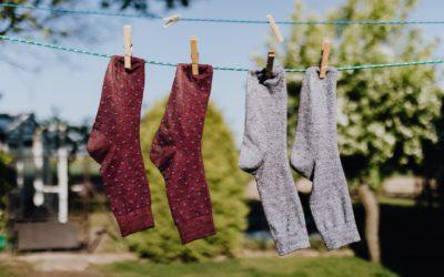"""""""Wir waschen die Strümpfe in der Waschmaschine"""" – Ideen für das Üben des SCH-Lautes im Alltag"""